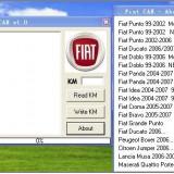 MODIFICARE  KM Fiat FIAT KM Program TOOL via OBD2