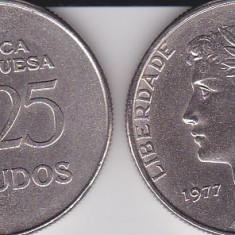 PORTUGALIA 25 ESCUDOS 1977, Europa