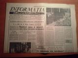 ziarul informatia bucurestiului 26 ianuarie 1974