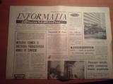 ziarul informatia bucurestiului 25 ianuarie 1974