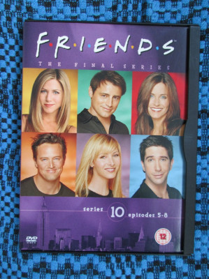 FRIENDS (sez. 10, epis. 5-8) - film DVD (original, in stare impecabila!!!) foto