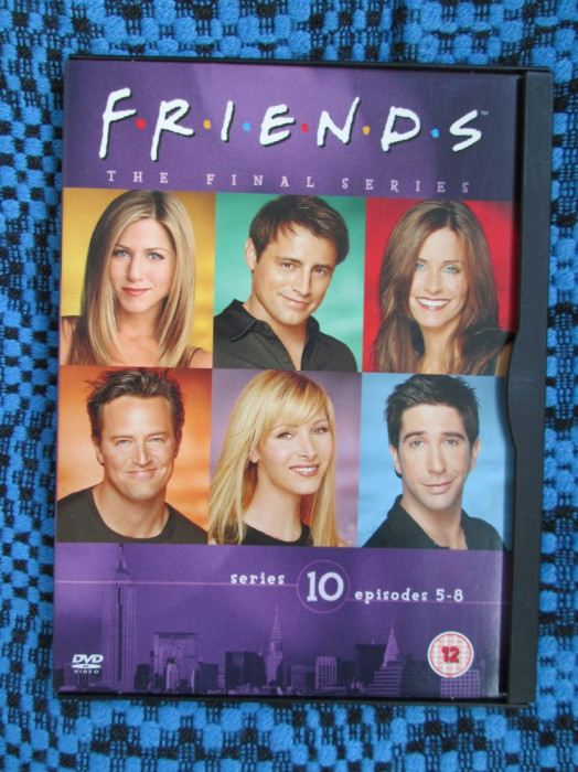 FRIENDS (sez. 10, epis. 5-8) - film DVD (original, in stare impecabila!!!)