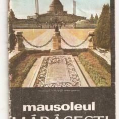 (C4439) MAUSOLEUL MARASESTI, JUDETUL VRANCEA, COMITETUL DE CULTURA SI EDUCATIE SOCIALISTA - Carte dezvoltare personala