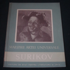 MIRCEA DEAC - SURIKOV 1848-1916 {1957}, Alta editura