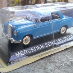 Macheta Mercedes Benz 180 Ponton (W120) +revista DeAgostini Masini de Legenda 44