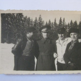 FOTOGRAFIE OFITERI/SUBOFITERI VANATORI DE MUNTE DIN ANII 30 - Fotografie veche