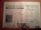 ziarul informatia bucurestiului 24 ianuarie 1974