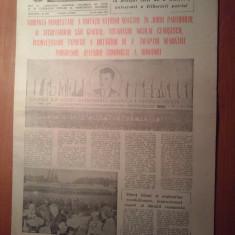 Informatia bucurestiului 25 august 1980-art.si foto.de la demonst. din 23 august - Ziar