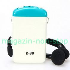 Aparat Auditiv Axon K-38 Pentru Hipoacuzie Severa Cu Fir La Buzunar