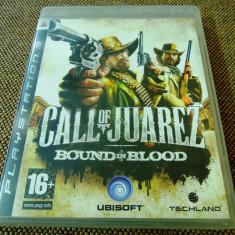 Joc Call of juarez Bound in Blood, PS3, original, alte sute de jocuri! - Jocuri PS3 Ubisoft, Shooting, 16+, Single player