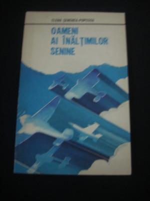 ELENA SENCHEA POPESCU - OAMENI AI INALTIMILOR SENINE {1980} foto