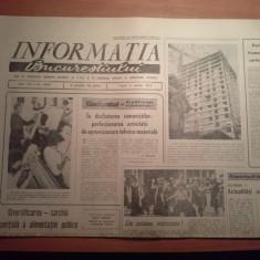 Ziarul informatia bucurestiului 5 aprilie 1974