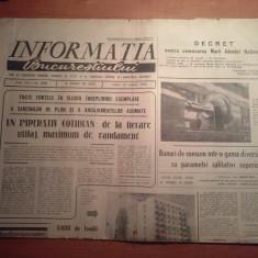 Ziarul informatia bucurestiului 22 martie 1974