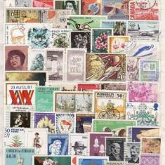 341 - Lot timbre stampilate si nestampilate diverse tari