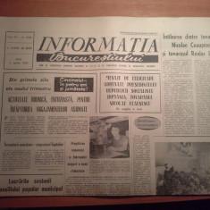 Ziarul informatia bucurestiului 2 aprilie 1974