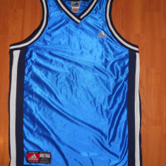 Maieu ADIDAS Larg Basket. Marimea L. (Maiou Basketball, Tricou Baschet) - Maiou barbati Adidas, Marime: L, Culoare: Albastru