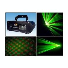 MEGA OFERTA ! SUPER LASER SHINP DE PUTERE 3 CULORI ROSU+VERDE+GALBEN, DMX 512.SIGILAT ! - Laser lumini club