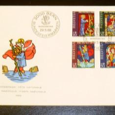 FDC Elvetia - plic prima zi - SARBATORI NATIONALE - RELIGIE - 1969 - 2+1 gratis toate produsele la pret fix - RBK3628, Europa