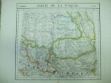 Harta Imperiul otoman cu Transilvania, Valahia, Moldova, Vandermaelen