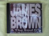 JAMES BROWN and THE SOUL G's - Live At Chastain Park - C D Original (Prima Presa) ca NOU