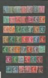 FRANTA - SEMANATOAREA, serie stampilata DEPARAIATA , LOT81, Stampilat