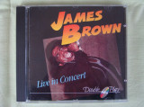 JAMES BROWN - Live In Concert - C D Original ca NOU