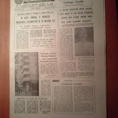 Ziarul informatia bucurestiului 27 august 1980-vizita presedintelui camerunului