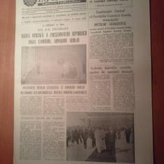Informatia bucurestiului 30 august 1980-vizita presedintelui republicii camerun - Ziar