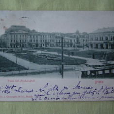 BRAILA - Piata Sfintii Arhangheli - 1904
