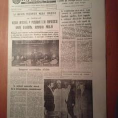 Informatia bucurestiului 29 august 1980-vizita presedintelui republicii camerun - Ziar