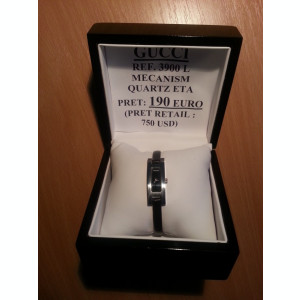 Ceas de lux GUCCI de dama Ref. 3900 L. Pret retail 750 USD!!!