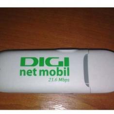 MODEM 3G - Huawei E3131 - 21 Mbps - Apel Vocal - DECODAT - Stick USB Cartela SIM Internet Mobil Cosmote Orange Vodafone RDS-RCS-DIGI