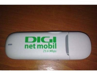 MODEM 3G - Huawei E3131 - 21 Mbps - Apel Vocal - DECODAT - Stick USB Cartela SIM Internet Mobil Cosmote Orange Vodafone RDS-RCS-DIGI foto