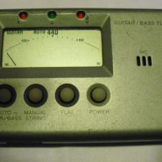 KORG GUITAR BASS TUNER GA 20