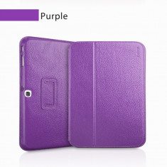 Husa Executive Case Piele Naturala Samsung Galaxy Tab3 10.1 P5200 by Yoobao Originala Purple - Husa Tableta