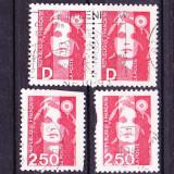 Timbre FRANTA 1973 = MARIANNE - NOUA VALOARE