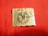 Timbru 30 Filleri 1919 Debretin supratipar Romania zona ocupatie , stamp.-f.rara!
