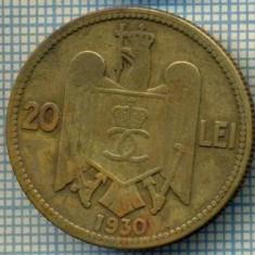 4659 MONEDA - ROMANIA - 20 LEI - ANUL 1930 H -starea care se vede