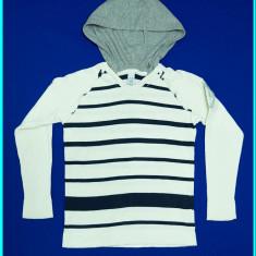 DE FIRMA _ Pulover / bluza, bumbac, subtire, tricotata, ZARA _ fete | 7 - 8 ani, Marime: Alta, Culoare: Alb