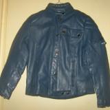 Geaca / jacheta moto din piele naturala de calitate mar.40