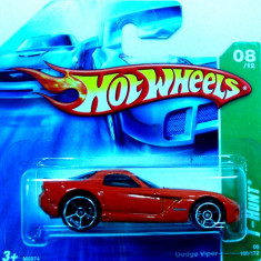 HOT WHEELS-TREASURE HUNT-DODGE VIPER ++2501 LICITATII !! - Macheta auto Hot Wheels, 1:64