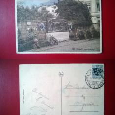 Vedere Nels - Mur Tschoffen - circulata Belgia 1929