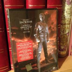 MICHAEL JACKSON - VIDEO GR. HITS HISTORY (1995/2000) - DVD NOU/SIGILAT - Muzica Rock sony music