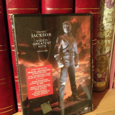 MICHAEL JACKSON - VIDEO GR. HITS HISTORY (1995/2000) - DVD NOU/SIGILAT - Muzica Rock sony music