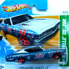 HOT WHEELS-TREASURE HUNT-CHEVY CHEVELLE 396 SS ++2501 LICITATII !! - Macheta auto