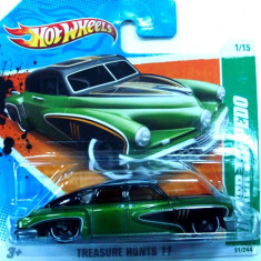 HOT WHEELS -TREASURE HUNT- HUDSON HORNET ++2501 LICITATII !! - Macheta auto Hot Wheels, 1:64