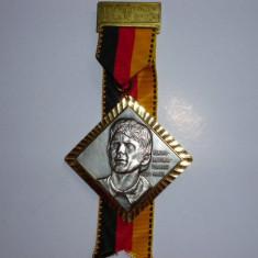 Medalie fotbal - portarul SEPP MAIER - Germania