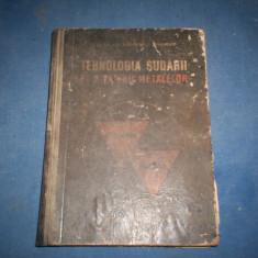 TEHNOLOGIA TAIERII SI A SUDARII METALELOR I VASILE, C BAKONY, O STOENESCU