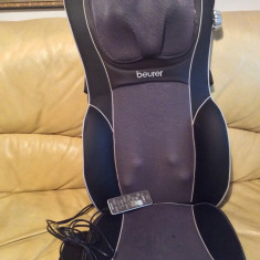 Husa de scaun pentru masaj Beurer MG290 HD - 3D negru - Husa masaj