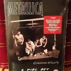 METALLICA - CUNNING STUNTS/LIVE IN TEXAS (2005/UNIVERSAL) -2 DVD SET NOU/SIGILAT, universal records